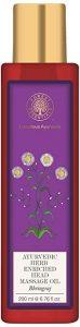 4. Forest Essentials Ayurvedic Herb Enriched Head Massage Oil - Bhringraj