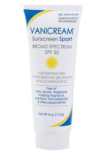 8. Vanicream Sunscreen Sport