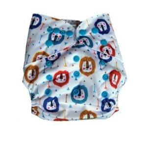 8. Fig o Honey Lion Pocket Cloth Diaper