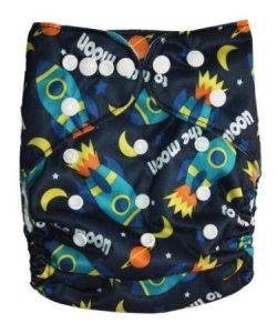 7. babysoft Reusable Cloth Diaper