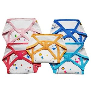 5. Littly Cushioned Cotton Nappies