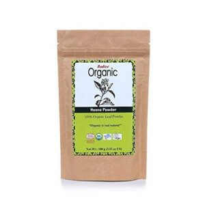 7. Radico Organic Henna Powder