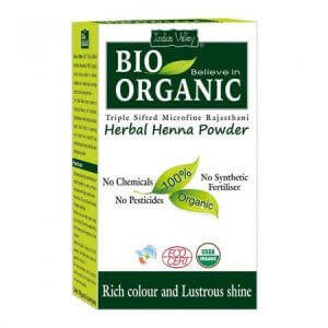 3. Indus Valley Bio Organic Herbal Henna Powder