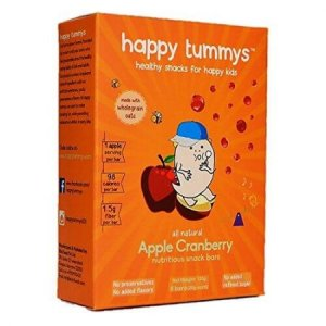 10. Happy Tummys Apple Cranberry Nutritious Bar