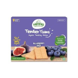 8. Mimmo Organics Tender Yums Blueberry Fig
