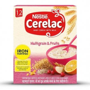 7. Nestle Cerelac Multigrain with Fruits