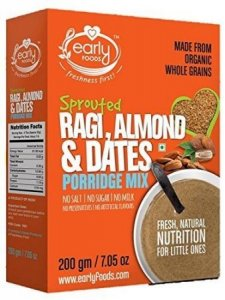 5. Early Foods Organic Porridge Mix