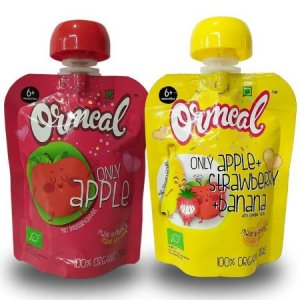 4. Ormeal Organic Baby Food Puree