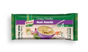 7. Knorr Mast Masala Soupy Noodles