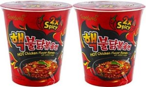 5. Samyang Fire Chicken Buldak 2x Spicy