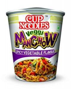4. Nissin Cup Noodles Veggi Manchow
