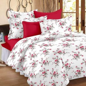 9. Ahmedabad Cotton 160 TC Double Bed Sheet