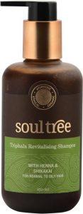 2.Soultree Triphala Revitalizing Shampoo With Henna And Shikakai