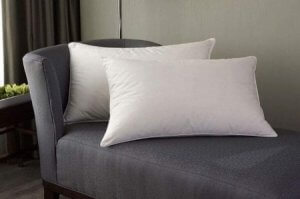 7.Linenwalas Goose Down and Feather Pillows