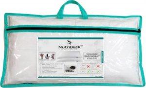 4. NutriBuck Organic Buckwheat Pillow