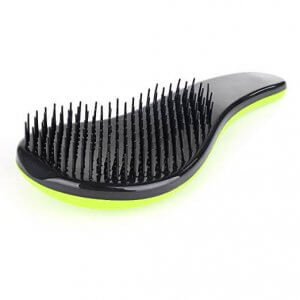 Detangling Brush to Untangle Knots with Greater Ease and Lesser Breakage
