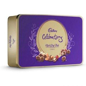 10.Cadbury Celebrations Rich Dry Fruit Chocolate Gift Box