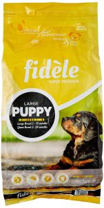 7. Fidèle Large Puppy Food