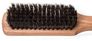 Gentle Boar Bristles for Brushing Fine Hair without Tugs and Pulls