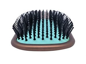 Flexible yet Strong Synthetic Bristles for Untangling Thick Hair