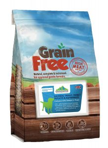 1. Goodness Grain Free Salmon and Trout Dog Food
