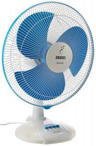 1.Usha Maxx Air 400mm Table Fan