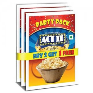 1. Act II Butter Delite Party Pack