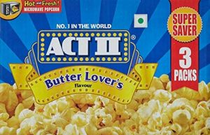 5. Act II Microwave Popcorn Butter Lovers