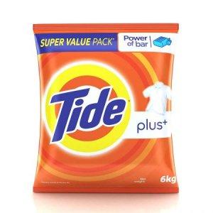 7. Tide Plus Lemon Detergent Powder