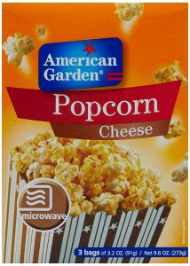 7. American Garden Microwave Popcorn Cheese