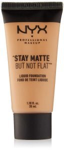 9. NYX Professional Makeup Stay Matte but not Flat Foundation
