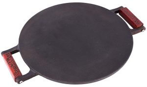 Affordable, Durable, and Easy to Clean Cast Iron Tawa