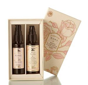2. Kama Ayurveda Rose & Jasmine Face Care Gift Box