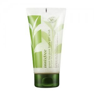 7. Innisfree Green Tea Pure Body Gel Scrub