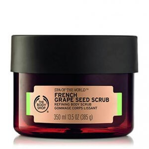 5. The Body Shop Spa of the World French Grape Seed Body Scrub
