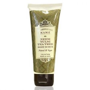 6. Kama Ayurveda Neem Tulsi Tea Tree Body Scrub