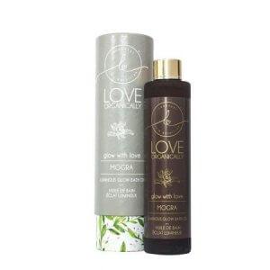 2. Love Organically Mogra Luminous Glow Bath Oil
